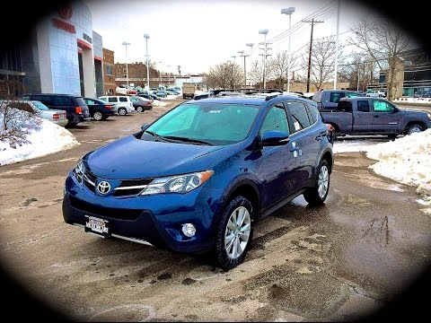 2014 Toyota RAV4 AWD Limited Start Up, Review, Exhaust, & Test Drive @ Motorcars Toyota