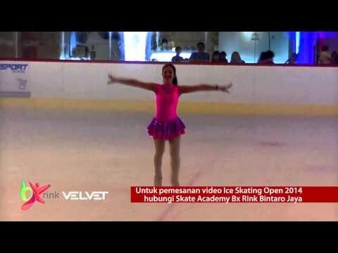 Indonesia Ice Skating Open 2014 di Bintaro Jaya Indonesia (Highlight)