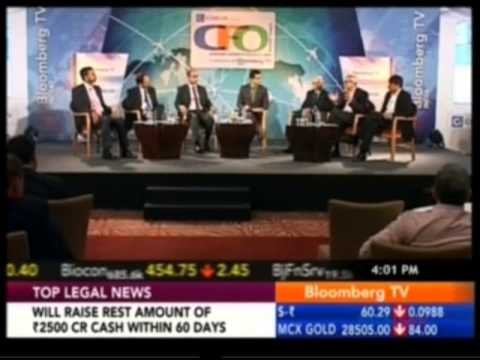 Madhu Menon - CFO, Tesco HSC Participates In Bloomberg India CFO Summit 2014