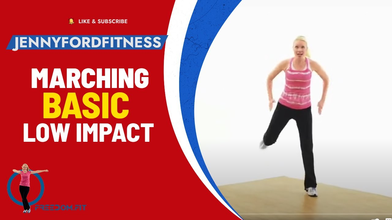 Marching with Moves - Aerobic Workout - YouTube
