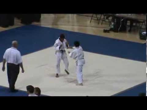 David Arizaga 2013 Nikkei Judo Tournament, middleweight division 13 and 14 yr olds