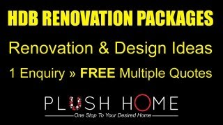 HDB Renovation Packages, Contractors & Designs: Compare