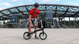 Bikers Rio Pardo   Vídeos   Bicicleta dobrável pesa apenas 8,5kg e cabe na bolsa