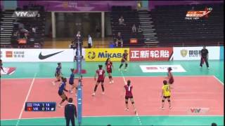 [Full HD]4TH AVC CUP FOR WOMEN [Semi-Finals]:Viet Nam Vs