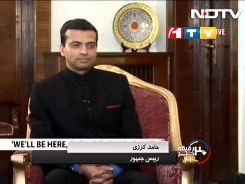 karzai's latest speech on U.S troops departure from AFG | Qiam Noori | 1T.Vmedia