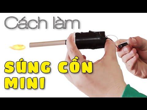 Cách làm súng cồn mini