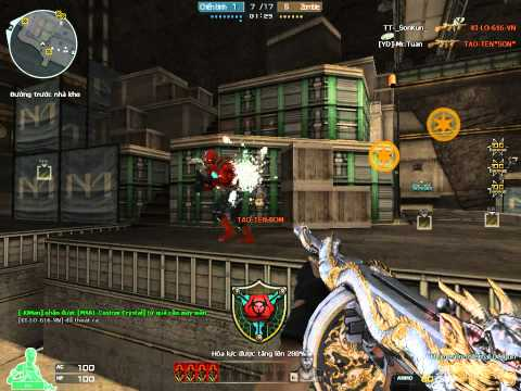 [Clan Top_Zombie] ✔ Cross Fire Zombie v4 Hoang Lang Thompson Vip    Thế này mới gọi là chơi CF chứ