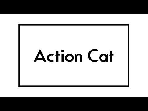 Action Cat by Gerard Way - Lyrics Video