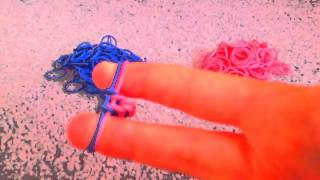 How To Make A Fishtail Rubber Band Bracelet Without The