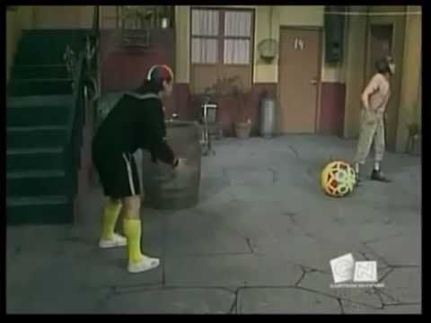 Chaves erros de gravação episódio jogando futebol