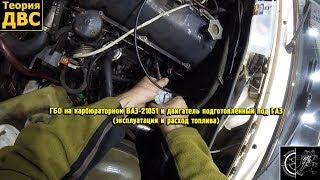 ГБО на карбюраторном ВАЗ-21051 и двигатель подготовленный под ГАЗ (эксплуатация и расход топлива). Евгений Травников.
