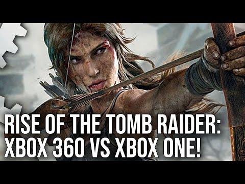 Rise of the Tomb Raider Xbox 360 vs Xbox One Graphics Comparison