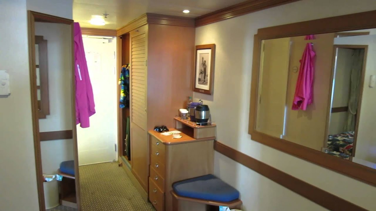 Disney Magic Deluxe Oceanview Stateroom With Verandah 8550 Youtube