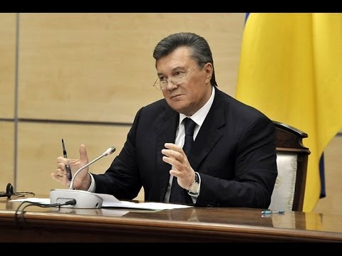 Viktor Yanukovich, Ukrainian President, speech from Russia ~ 28 February 2014