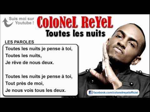 télécharger Colonel Reyel – Toutes les nuits