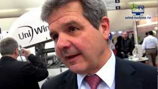 Uni Wind GmbH auf der Messe New Energy Husum 2012 - YouTube