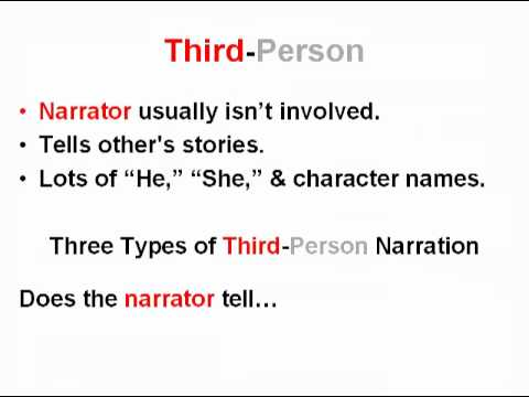 Is a narrative essay written in thrd-person of first-person?