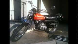 Riding My 1972 Kawasaki G4 TR 100