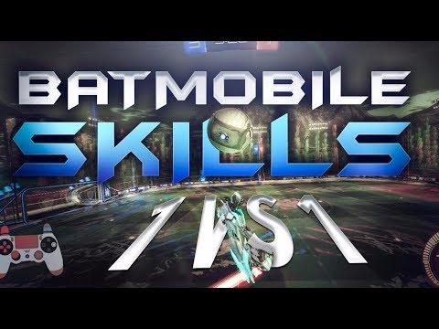 BATMOBILE SKILLS EN 1 VS 1 ~ Rocket League