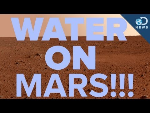 Water Found On Mars... FOR REAL!