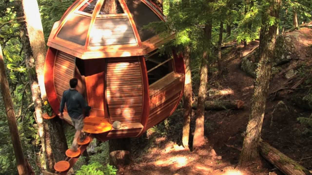 The Hemloft A Secret Treehouse Hiding In The Woods Of