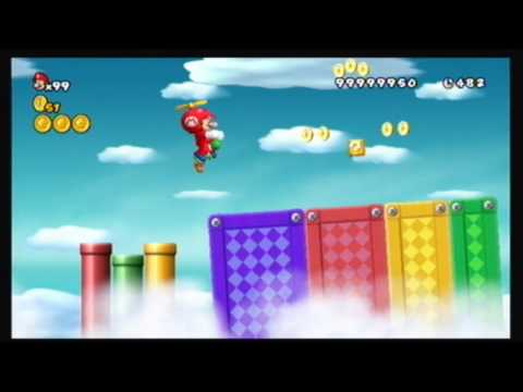 New Super Mario Brothers Wii Cheats