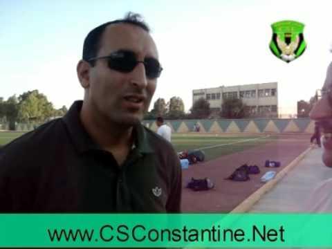 Interview avec Tarek Arama, le manager du CSC