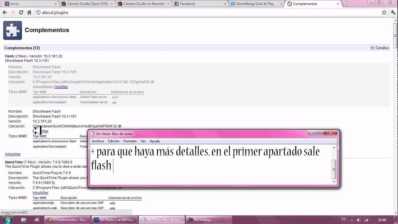 descargar complemento shockwave flash gratis