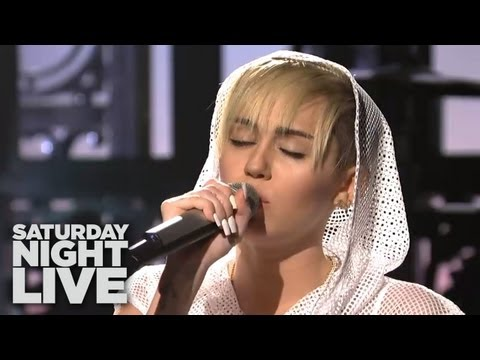 MILEY CYRUS SNL PERFORMANCES: