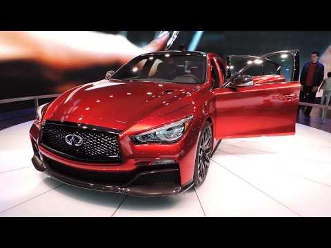 Infiniti Q50 Eau Rouge concept Detroit Auto Show 2014
