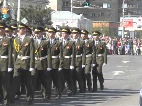 Тамбов. Парад Победы 9 Мая 2011 года.