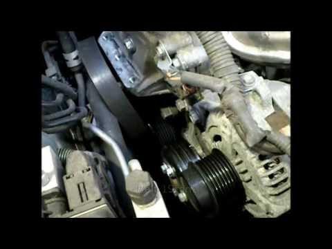 Замена водяной помпы на двигателе 2AZ-FE