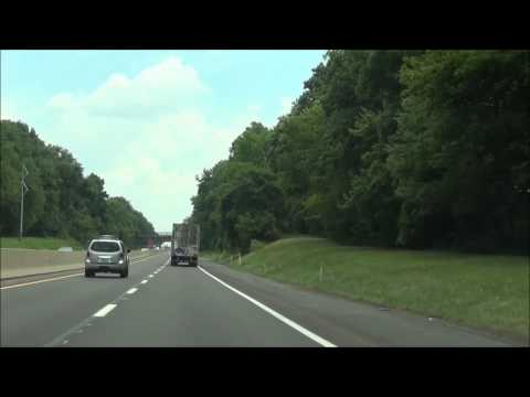 Pennsylvania - Interstate 276 East (PA Turnpike) - Mile Marker 350-359 (7/24/12)