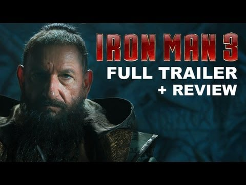 Iron Man 3 Official Trailer 2013 + Trailer Review : HD PLUS, Iron Man 3 Official Trailer is here, and you can see it here today plus get a trailer review! Beyond The Trailer host Grace Randolph gives you her reaction t...