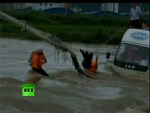 China Floods Video: Dozens killed, millions evacuated
