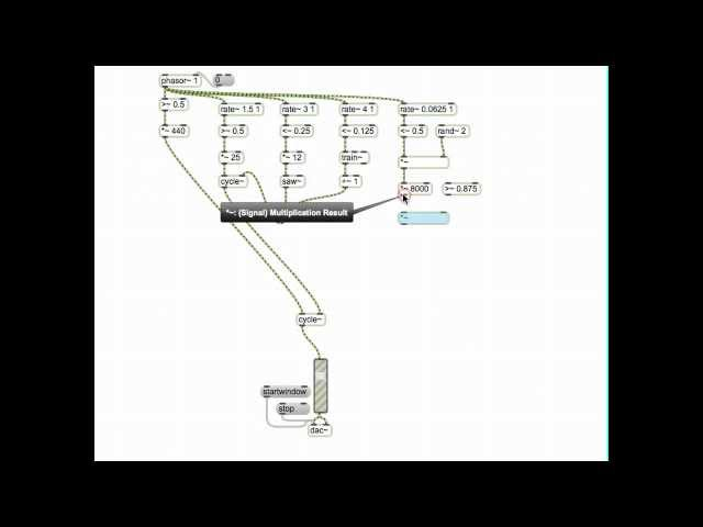 Max MSP: Little Glitch Machine (Live Coding Version)