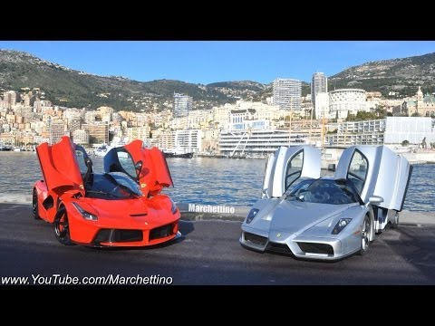 LaFerrari vs Ferrari Enzo Driving FAST in the Hills!