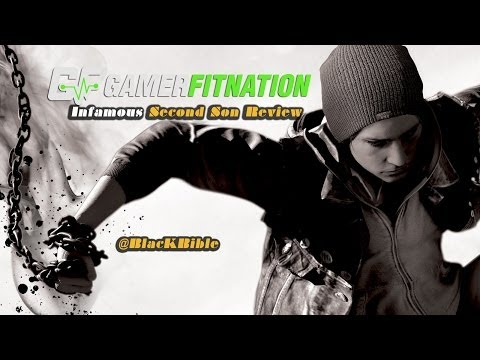 inFAMOUS: Second Son Review - PS4 @GamerFitnation