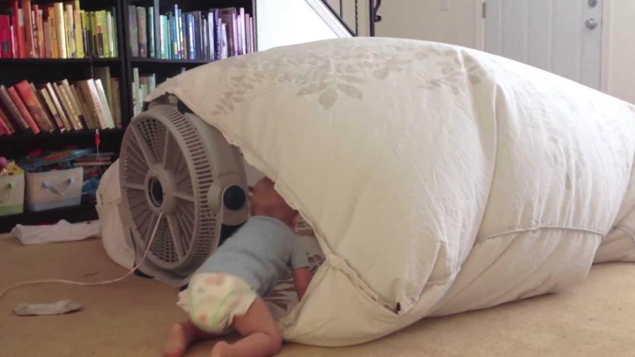 Fan Blanket Fort Youtube