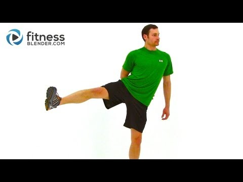 Fitness Blender Beginner Balance Workout - Beginner Exercises for Balance and Toning