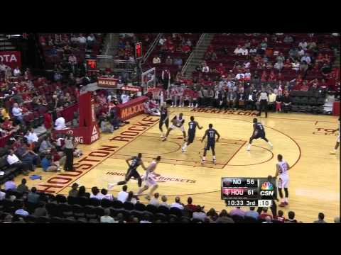 [10.5.13] Dwight Howard - 19 points vs Pelicans (Rockets Preseason Debut) (Full Highlights)