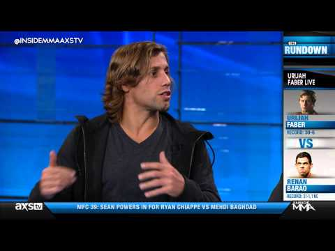 Urijah Faber Aiming For a Dirty Fight Against Renan Barao