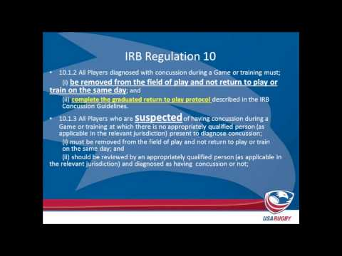 Rugby University - Webinar Series Ep. 2: Scrums and Concussion