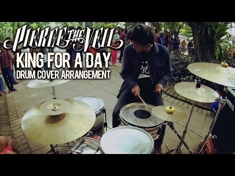 R Wiryawan - King for a Day feat Kellin Quinn // Drum Cover Arrangement