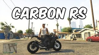 GTA 5: Carbon RS Bike Gameplay DLC
