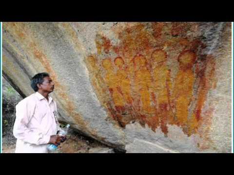 Crazy! 10,000 Year Old Rock Painting In India Depicts 'Aliens and UFOs'