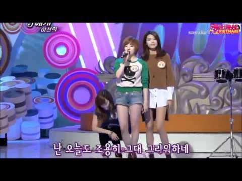 [Vietsub] Jessica & Kim Jin Pyo  - What to do