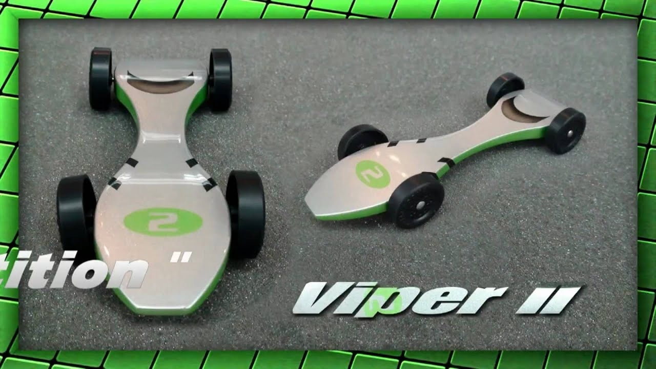 Super fast pinewood racer viper ii the