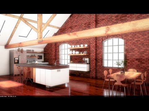 Vray Tutorial - Basic Int Lighting with Vray and 3ds Max - Workshop 07 - Part I