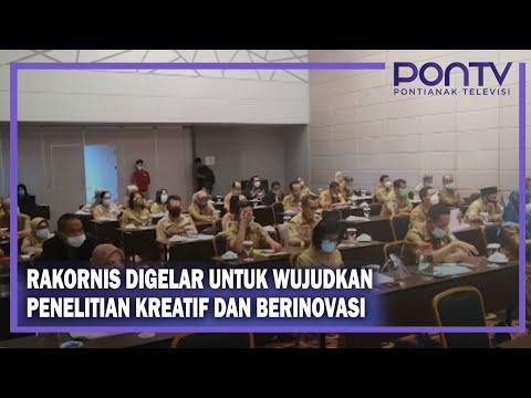 Rakornis Kelitbangan Se Kalimantan Barat